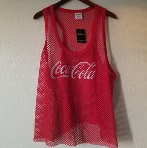 Forever 21 Coca Cola Tank Top